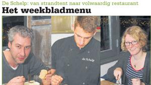 Weekbladmenu: De Schelp – van strandtent naar volwaardig restaurant